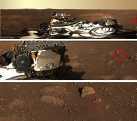 Exclu !!! Un crâne découvert sur Mars