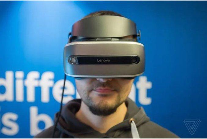 Le casque de réalité virtuelle de Lenovo présenté au CES 2017