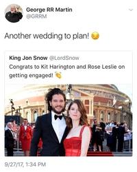 Un mariage rouge comme sa robe ?