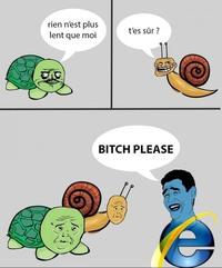 La tortue et l'escargot