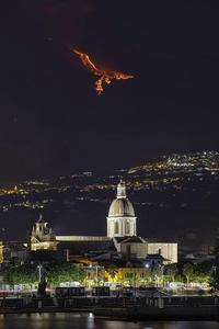 Lors de la dernière éruption de l'Etna
