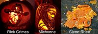 [SPOILER] Citrouille d'halloween the Walking Dead [SPOILER]