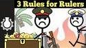 Les 3 lois de la politique
