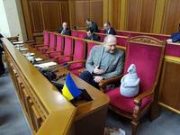 Le Président ukrainien se fait expliquer la situation