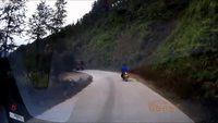 Périple vélocipédique plutôt dangereux