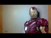 Iron Man sur papier!