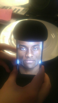 Afro smartphone