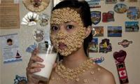 Masque de céréales