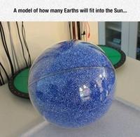 Combien faut-il de Terre pour faire un Soleil ?