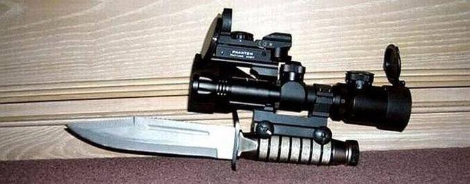 Une arme de haute précision.