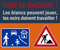 Stop au racisme !