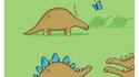 Une histoire de stégosaure