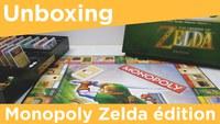 Déballage du Monopoly Zelda édition