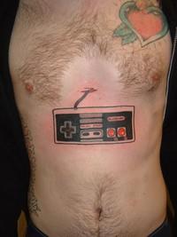 Tatouage NES