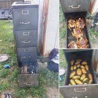 Barbec de fonctionnaire