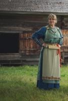 Costume d'apparat traditionnel finlandais, vers 1050 (période viking)