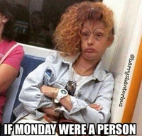 Allégorie du lundi matin