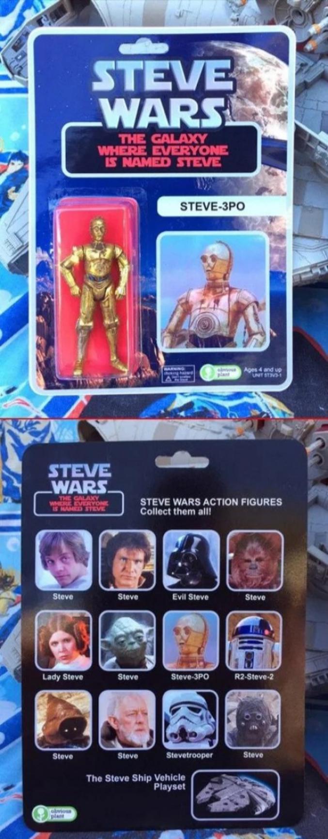 La Galaxie où tout le monde s'appelle Steve.
