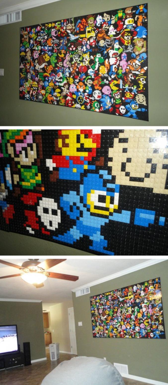En LEGO.