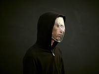 Visière anti-reconnaissance faciale