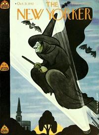 Couverture du New-Yorker pour Halloween 1942