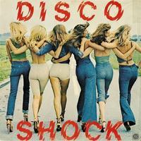 """Pochette du vinyl """"Disco Shock"""" - 1978."""
