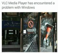 Crash de VLC