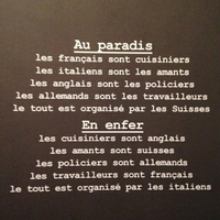 L'enfer et le paradis en Europe