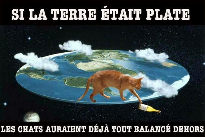 pour la Flat Earth Society