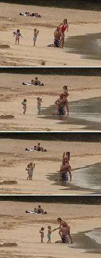 Photos à la plage