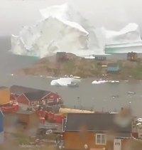 Iceberg géant au large du Groënland