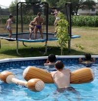 Fans de trampoline