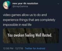 Vivre des situations impossibles grâce aux jeux vidéo