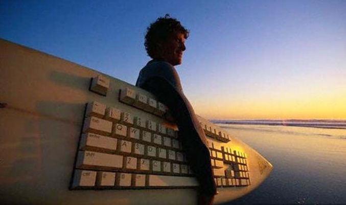 Un fan du surf !
