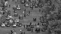 Les Champs-Elysées en 1956