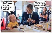 Faut pas chercher Obama