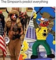 Les prophéties des Simpsons.