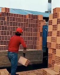 """""""Charger des briques, n'importe qui peut le faire ..."""""""