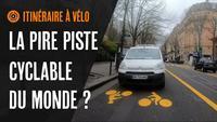 LA PIRE piste cyclable du MONDE ?