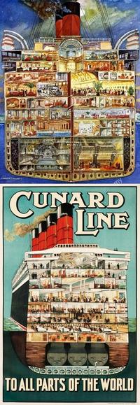La transition charbon/fuel pour les paquebots dans les années 20/30