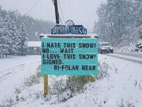 Kan il neige