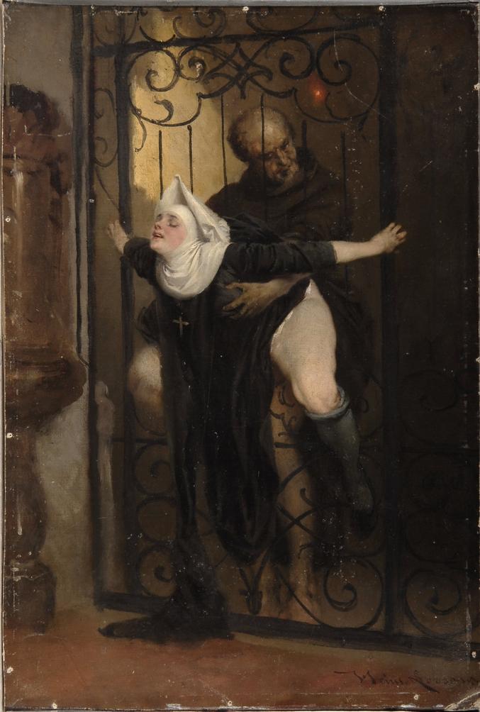 Un tableau du peintre allemand Heinrich Lossow, de 1880.