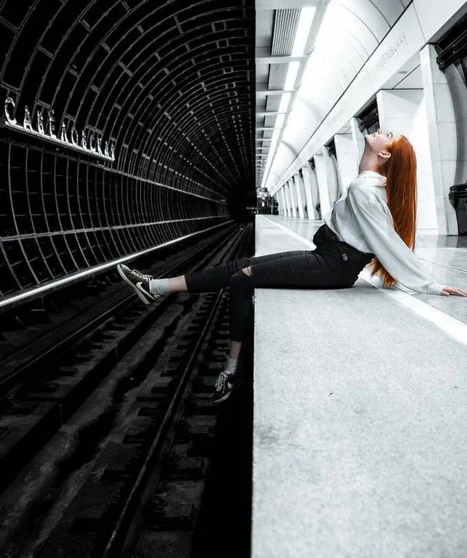 Photo en noir et blanc.