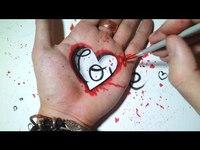 """4 dessins """"LOVE"""" à faire"""