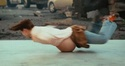Pregnant breakdance