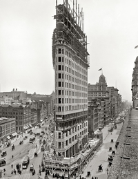 Le Flatiron building (New York) en 1902