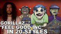 Gorillaz - Feel Good Inc | Ten Second Songs 20 Style Cover