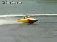 Accident en bateau
