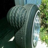 Quand le pneu s'est cogné