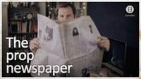 Les personnages de films et séries lisent tous le même journal